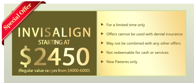 Invisalign Starting at $2,450