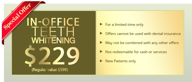 In-Office Teeth Whitening Starting at $229